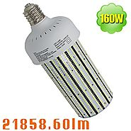 NUOGUAN 160W 480V LED Retrofit 400W Warehouse Gym Workshop High Bay Fixture 21858 Lumens Daylight 5000K AC200-500V Mo...