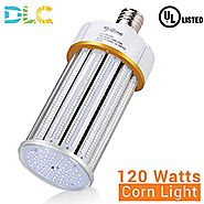 120W LED Corn Light Bulb (400-700 Watts Metal Halide/HPS Replacement), Large E39 Mogul Screw Base, UL-Listed & DLC Qu...