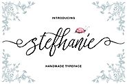 Stefhanie Typeface by queentype on Envato Elements