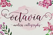 Octavia Script by adamfathony on Envato Elements