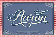 Aaron Script by Seniors_Studio on Envato Elements