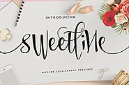 Sweetline by dirtylinetype on Envato Elements