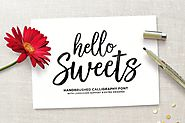 Hello Sweets Script by Seniors_Studio on Envato Elements