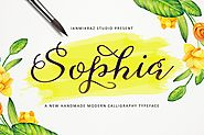 Sophia Script by IanMikraz on Envato Elements