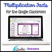 Multiplication Facts, Strategies, and Games for the Google Classroom