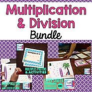 Multiplication and Division Fact Fluency Bundle by Mercedes Hutchens