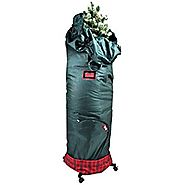 TreeKeeper Pro Rolling Stand and Storage Bag - Fits 6 ft. to 8 ft. Hinged Christmas Trees