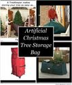 Artificial Christmas Tree Storage Bag