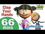 Top English Nursery Rhymes Clap Your Hands & More Nursery Rhymes 66 Minutes Compilation