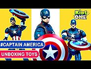 Marvel Avengers Toys Collection Captain America Super Hero Action Figures Unboxing