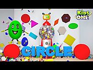 Surprise Remote Gumball Shapes Shapes for Children to Learn with Gumball Machine