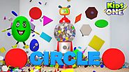 Surprise Remote Gumball Shapes | Shapes for Children to Learn with Gumball Machine