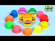 Play and Learn Colors with Play Doh Fun and Surprises For Children