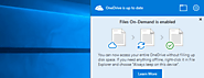 How to Use OneDrive's Files On-Demand in Windows 10's Fall Creators Update