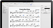 Create, play and print beautiful sheet music
