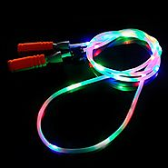 LED Jump Ropes (Rainbow)