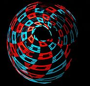 The Kinetic LED Hula Hoop - 100+ Super Bright LEDs - 100+ Available Modes