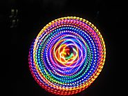 "36"" - 24 LED Hula Hoop - HDPE - THE FUSION"