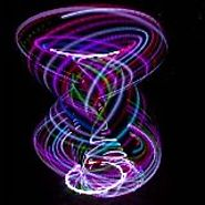 Spectrum LED hula hoop - Multiple Sizes Available