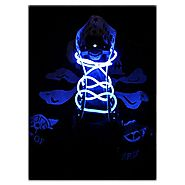 Topcabin LED Shoelaces with Continuous and 2 Blinking Modes in 5 Colors Flash Lighting the Night for Party Hip-hop Da...