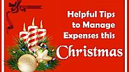Helpful Tips to Manage Expenses this Christmas by My-quickloans - Dailymotion