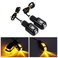 Motorcycle Turn Signals Lights Universal 6 LED Waterproof Turn Signal Indicator 12V Pilot Lamp Indicator Amber Light