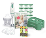"Baby Food Maker - Sage Spoonfuls Award-Winning All Natural Baby Food System - ""Let's Get Started"" Package with Immers..."