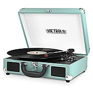Top 10 Best Bluetooth Stereo Suitcase Turntable with Speakers 2017-2018 on Flipboard
