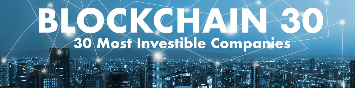 Headline for Top 30 Most Investible Blockchain Companies