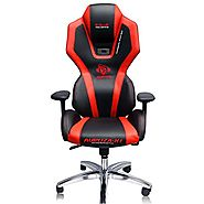 E-Blue Auroza Gaming Lighting Chair High Grade PU Leather PC Gaming Racing Bucket Seat Office Ergonomic Computer eSpo...