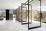 Pivot Glass Doors at affordable price in Dubai