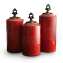 Beautiful Red Kitchen Canister Sets Reviews and More