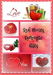 Red Hearts Romantic Gifts To Say I Love You On Valentine's Day • Seasons Charm