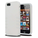 KAYSCASE FrostingShell Cover Case for Apple new iPhone 5 / iPhone 5S (White/White)