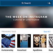 Display of Trending Photos
