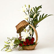 Send Flowers Arrangements to India | FlowersCakesOnline