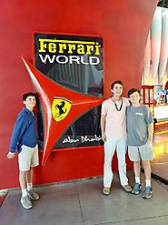 Ferrari World Tour: Enjoy Ferrari Theme Park Tour with Inclusive Package