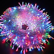 Decorative String lights 66ft 200 LEDs 8 color Changing modes Fairy Twinkle LED Light for Party, Wedding, Chirstmas, ...