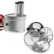 KitchenAid Food Processor with Attachment Commercial Style Dicing Kit