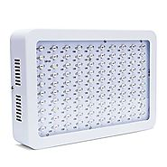 Asvert 1000w LED Grow Light Full Spectrum Double Chips with UV & IR for Greenhouse Indoor Veg and Flower