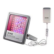 ACKE LED Grow Light Plant Light Full Spectrum for Seedlings Hydroponics Grow Lights of Plants Veg Herbs (SMD with Swi...