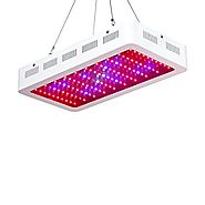 Roleadro 300w LED Grow Light Galaxyhydro Series Full Spectrum Grow Lamp for Plants Veg and Flower, Added Daisy Chain ...