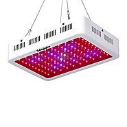 Roleadro LED Grow Light, Galaxyhydro Series 300W Indoor Plant Grow Lights Full Spectrum with UV&IR for Veg and Flower