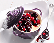 Berry Creams with Cassis