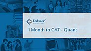 1 Month to CAT - Quantitative Aptitude | CAT 2017