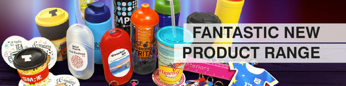 Headline for The top five promotional products for your brand or business