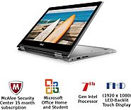 Dell Inspiron 5000 Core i7 7th Gen 8GB 2 in 1 laptop (touch screen display)
