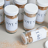 DIY | homemade 'love spice' favor jar - Something Turquoise