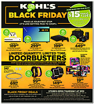 Kohl's 2017 Black Friday Ad