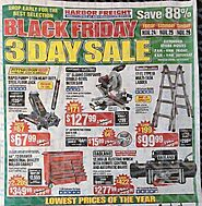 Harbor Freight Tools 2017 Black Friday Ad